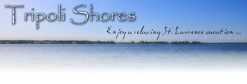 Enjoy a relaxing vacation along the St. Lawrence River!